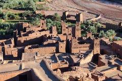 Ait Ben Haddou near ouarzazate in Morocco. stock photography