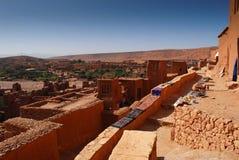 AIT Ben Haddou al Marocco Fotografia Stock Libera da Diritti