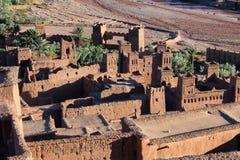 Ait Ben Haddou blisko ouarzazate w Maroko zdjęcia royalty free