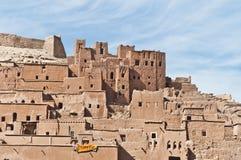 AIT Ben Haddou chez le Maroc Photographie stock libre de droits