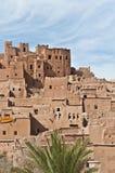 AIT Ben Haddou chez le Maroc Photos libres de droits