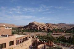 Ait Ben Haddou City i Marocko Arkivbilder