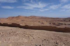 Ait Ben Haddou City i Marocko Arkivfoto