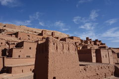 Ait Ben Haddou City in Marokko Stockfotografie