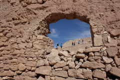 Ait Ben Haddou City in Marokko Stockbild