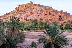Ait Ben Haddou city stock photo