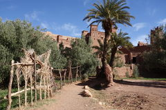 Ait Ben Haddou City in Morocco. Town of Ait Ben Haddou near Ouarzazate on the edge of the Sahara Desert in Morocco royalty free stock image