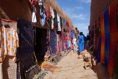 Ait Ben Haddou City in Morocco. Town of Ait Ben Haddou near Ouarzazate on the edge of the Sahara Desert in Morocco royalty free stock photo