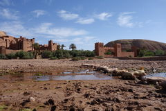 Ait Ben Haddou City nel Marocco Immagine Stock Libera da Diritti