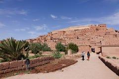 Ait Ben Haddou City nel Marocco Fotografia Stock