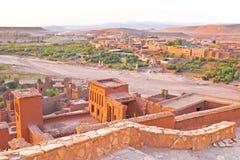 AIT ben Haddou dichtbij Ouarzazate Marokko Stock Foto