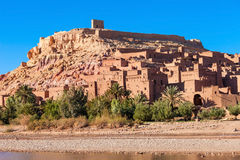 Ait Ben Haddou. Is a fortified city near ouarzazate in Morocco. Ait Benhaddou is a UNESCO World Heritage Site and several films have been shot there Royalty Free Stock Photo