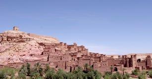 Ait Ben Haddou - habitat pre-sariano tradicional Foto de Stock