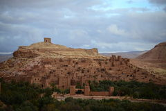 Ait ben haddou. Is historical city protected by UNESCO. All the town is made from clay Stock Photography