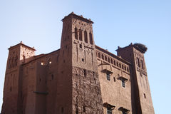 ait ben haddou kasbah Μαρόκο Στοκ Εικόνες