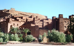ait ben haddou kasbah Μαρόκο Στοκ φωτογραφίες με δικαίωμα ελεύθερης χρήσης
