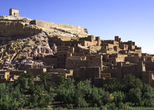 Ait Ben Haddou. Kasbah, the famous place where alot of films have been made. The gladiators is the most famous Stock Photography