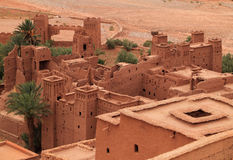 Ait Ben Haddou Kasbah, Maroc Images libres de droits