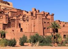 Ait Ben Haddou Kasbah Marocko Fotografering för Bildbyråer