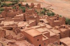 Ait Ben Haddou Kasbah Marocko Arkivfoto
