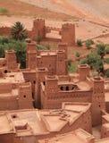 Ait Ben Haddou Kasbah Marocko Arkivfoton