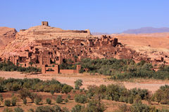 Ait Ben Haddou Kasbah, Marrocos Fotos de Stock Royalty Free