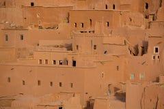 Ait Ben Haddou Kasbah medieval em Marrocos Imagem de Stock Royalty Free