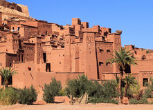 Ait Ben Haddou Kasbah, Morocco Stock Image