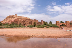 Ait Ben Haddou Kasbah near Ouarzazate. The Ait Ben Haddou kasbah near Ouarzazate, the Moroccan Sahara desert. Used for Game of Thrones royalty free stock image