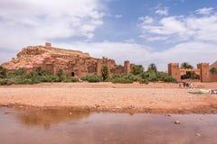 Ait Ben Haddou Kasbah près d'Ouarzazate Image libre de droits
