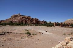Ait Ben Haddou - kasbah wioska w Maroko Obrazy Stock