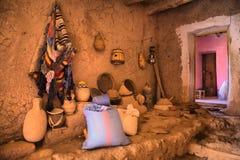 Ait Ben Haddou Ksar κουζίνα Στοκ Εικόνες