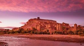 Ait Ben Haddou Marocko Arkivfoton