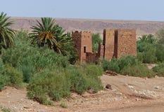 Ait Ben Haddou Marocko Arkivfoto