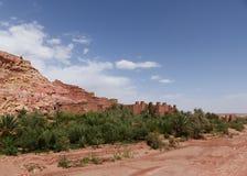Ait Ben Haddou Marocko Royaltyfri Foto