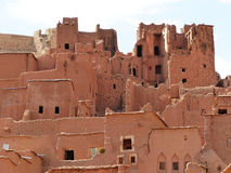 Ait Ben Haddou Marocko Arkivbild
