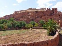 Ait Ben Haddou Marocko Royaltyfri Fotografi