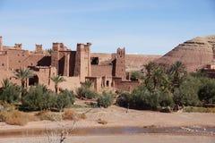 Ait Ben Haddou Marokko arkivbilder