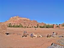 Ait Ben Haddou, Marokko stock foto
