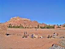 Ait Ben Haddou, Marruecos foto de archivo