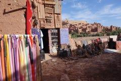 Ait Ben Haddou miasto w Maroko Fotografia Stock