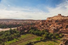 Ait Ben Haddou in Morocco stock image