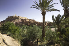 Ait ben haddou morocco Royalty Free Stock Photos