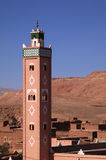 Ait Ben Haddou, Mosque minaret Stock Photography