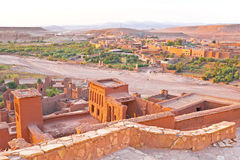 Ait ben Haddou near Ouarzazate Morocco Stock Photo
