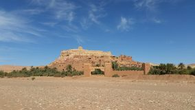 History of the Kasbah ait ben haddou stock photography