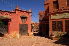 Ait Ben Haddou på Marocko Royaltyfri Foto