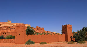 Ait Ben Haddou på Marocko Royaltyfri Bild