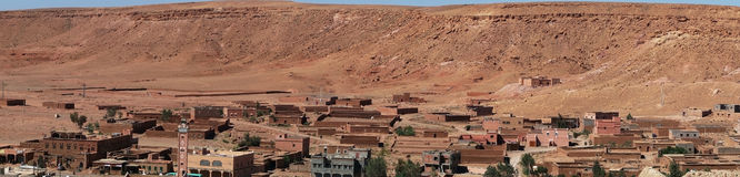 Ait Ben Haddou panorama Stock Photo