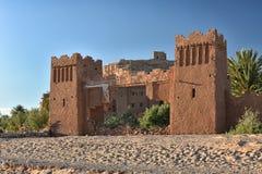 Ait Ben Haddou portar, Marocko Royaltyfri Foto